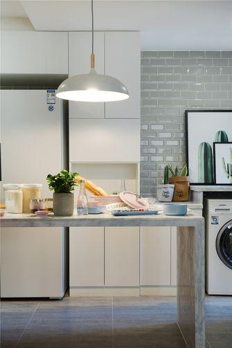 60平米一室两厅北欧风格厨房欣赏图