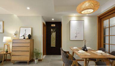 110平米三室一厅混搭风格玄关效果图
