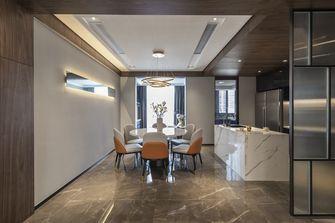 130平米三室两厅地中海风格餐厅欣赏图