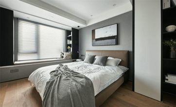 100平米三现代简约风格卧室图