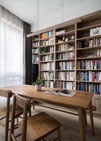 70平米一室两厅日式风格书房装修图片大全