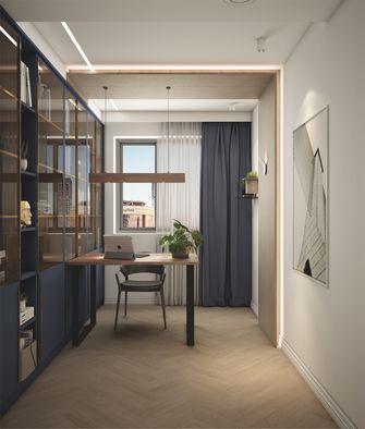 100平米三室一厅欧式风格书房图片
