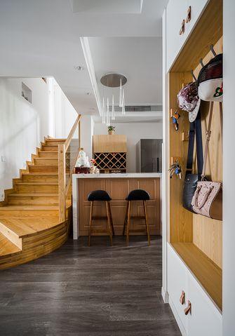 120平米复式现代简约风格楼梯间装修案例