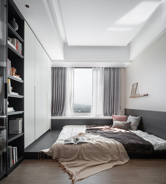 140平米四现代简约风格卧室效果图