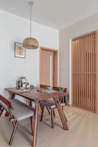 90平米三室三厅宜家风格餐厅装修效果图