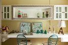 140平米四室两厅田园风格书房设计图