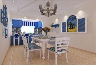 豪华型140平米四室三厅地中海风格餐厅图