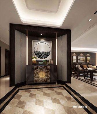 140平米四室两厅中式风格玄关图片