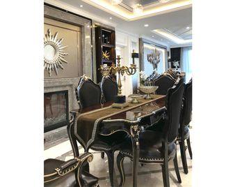 90平米公寓欧式风格餐厅设计图