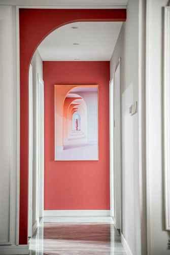 120平米三室两厅其他风格走廊欣赏图