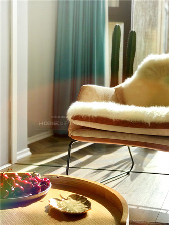 豪华型140平米四北欧风格阳光房欣赏图