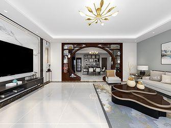 110平米新古典风格客厅装修案例