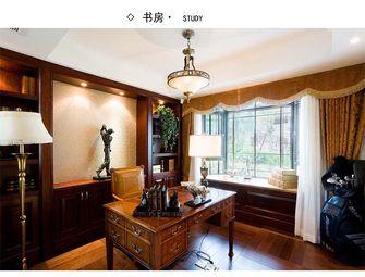 豪华型140平米四室四厅其他风格书房装修案例