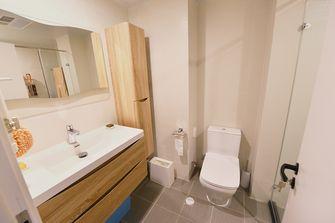 60平米一室一厅日式风格卫生间装修案例