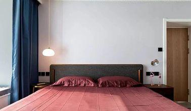 110平米三室一厅北欧风格卧室装修图片大全