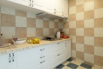 100平米地中海风格厨房欣赏图