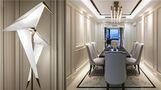 110平米三室两厅法式风格餐厅效果图