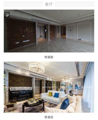 豪华型140平米三室一厅现代简约风格客厅装修案例