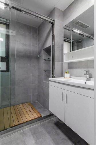 90平米北欧风格卫生间装修案例
