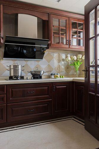 140平米四室两厅美式风格厨房图片大全