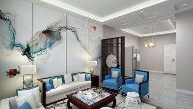90平米三室三厅中式风格客厅图片