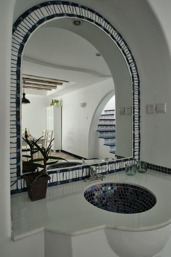 10-15万80平米三室一厅地中海风格卫生间装修图片大全