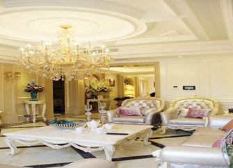 140平米四室四厅欧式风格客厅图