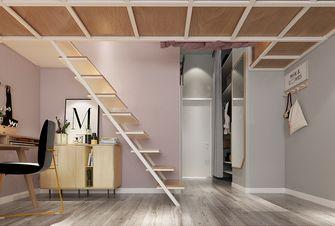 60平米混搭风格楼梯间图片大全