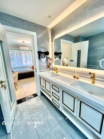 20万以上140平米三室两厅法式风格卫生间装修案例