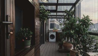 120平米三新古典风格阳台装修效果图