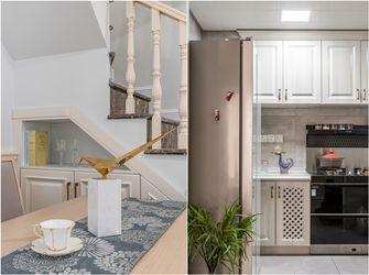 富裕型100平米三室两厅美式风格厨房装修图片大全
