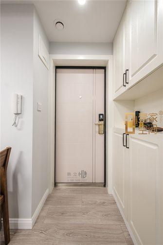 80平米三室一厅现代简约风格玄关图