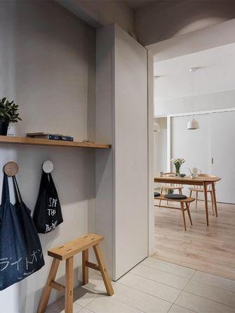 90平米三室两厅日式风格玄关设计图