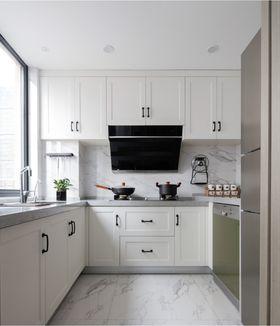 110平米三室两厅混搭风格厨房装修图片大全