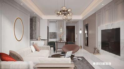 110平米三室两厅法式风格客厅欣赏图