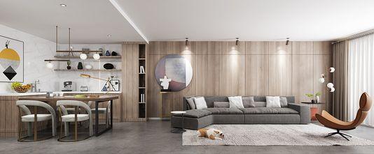 90平米公寓欧式风格客厅装修案例