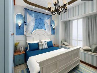 100平米三地中海风格卧室图片