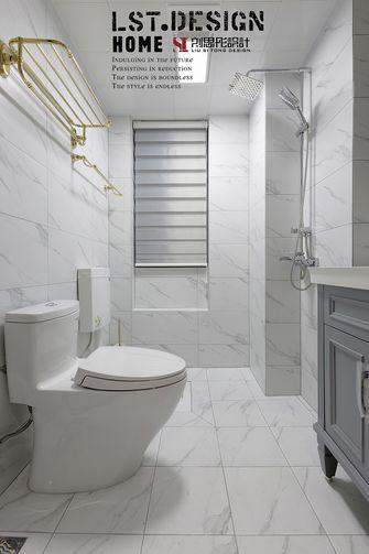 80平米三室两厅美式风格卫生间效果图