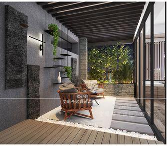 140平米四室两厅现代简约风格阳台装修图片大全
