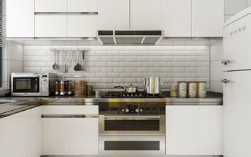 10-15万90平米北欧风格厨房橱柜效果图