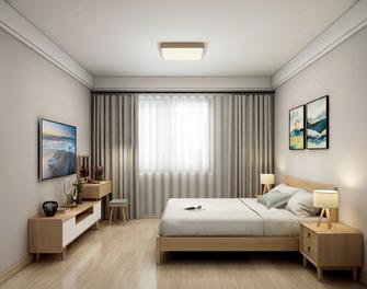 110平米三室三厅日式风格卧室装修案例