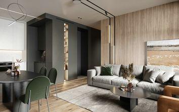 60平米一室一厅北欧风格客厅图片大全
