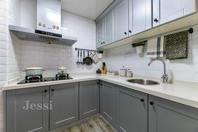 60平米混搭风格厨房设计图