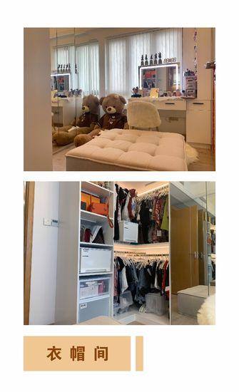90平米三室两厅日式风格衣帽间图片大全