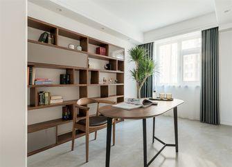 100平米三室一厅北欧风格书房装修案例
