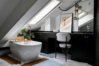 100平米三室一厅现代简约风格阁楼装修图片大全
