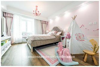 140平米三室两厅美式风格儿童房装修效果图