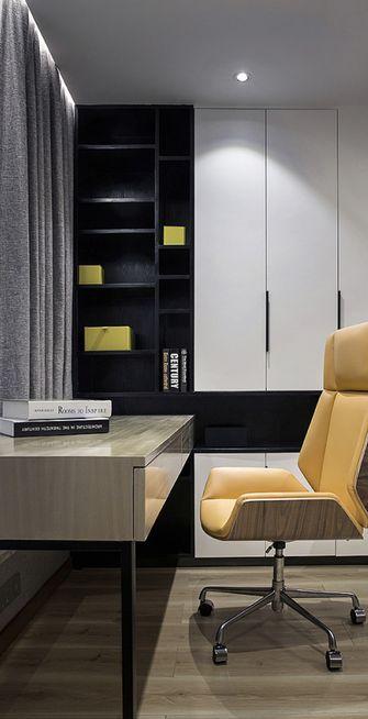 100平米三室两厅现代简约风格书房装修图片大全