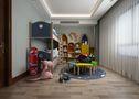 140平米别墅英伦风格儿童房装修案例