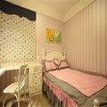 110平米三室一厅田园风格儿童房设计图